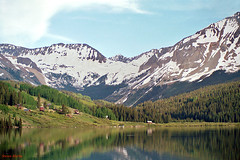 Trout Lake, Lizard Head Pass, Colorado (StevenM_61) Tags: lake snow mountains colorado unitedstates telluride rockymountains troutlake sanjuanmountains beautifulvalleys