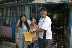 Presentation of baptismal certificates