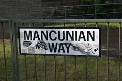 Manchester Mancunian Way Mancunian Way