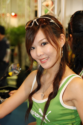 Cute asian girl: Taiwan Queen Bike 2007