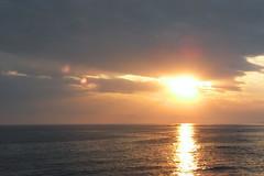 南葉山の夕日