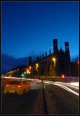 Ready, set, go (4mul8) Tags: church silhouette edinburgh traffic seat leon greenlight redlight
