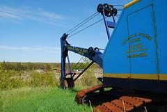 Koehring 305 (lokidude99) Tags: old blue slr yellow digital nikon zoom kitlens af nikkor dslr excavator zoomlens autofocus nikkorlens d80 nikond80 nikkorkitlens afsnikkor18135mm13556ged koehring koehring305