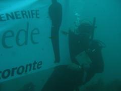Pancarta submarina Tacoronte
