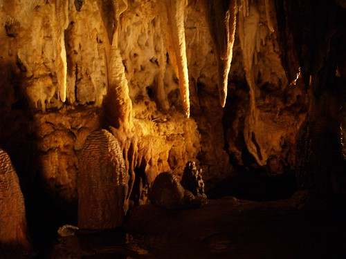 Inside Cave of the Mounds
