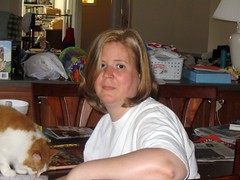 Cat and Cath - May 24, 07 (ThrasherDave) Tags: cat catherine loki cath newhairstyle apb365