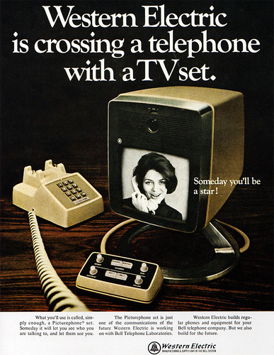 1960s Advertising - Magazine Ad - Western Electric (USA) / Daniel Yanes Arroyo