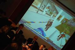 Bildt klipper bandet till den virtuella ambassaden