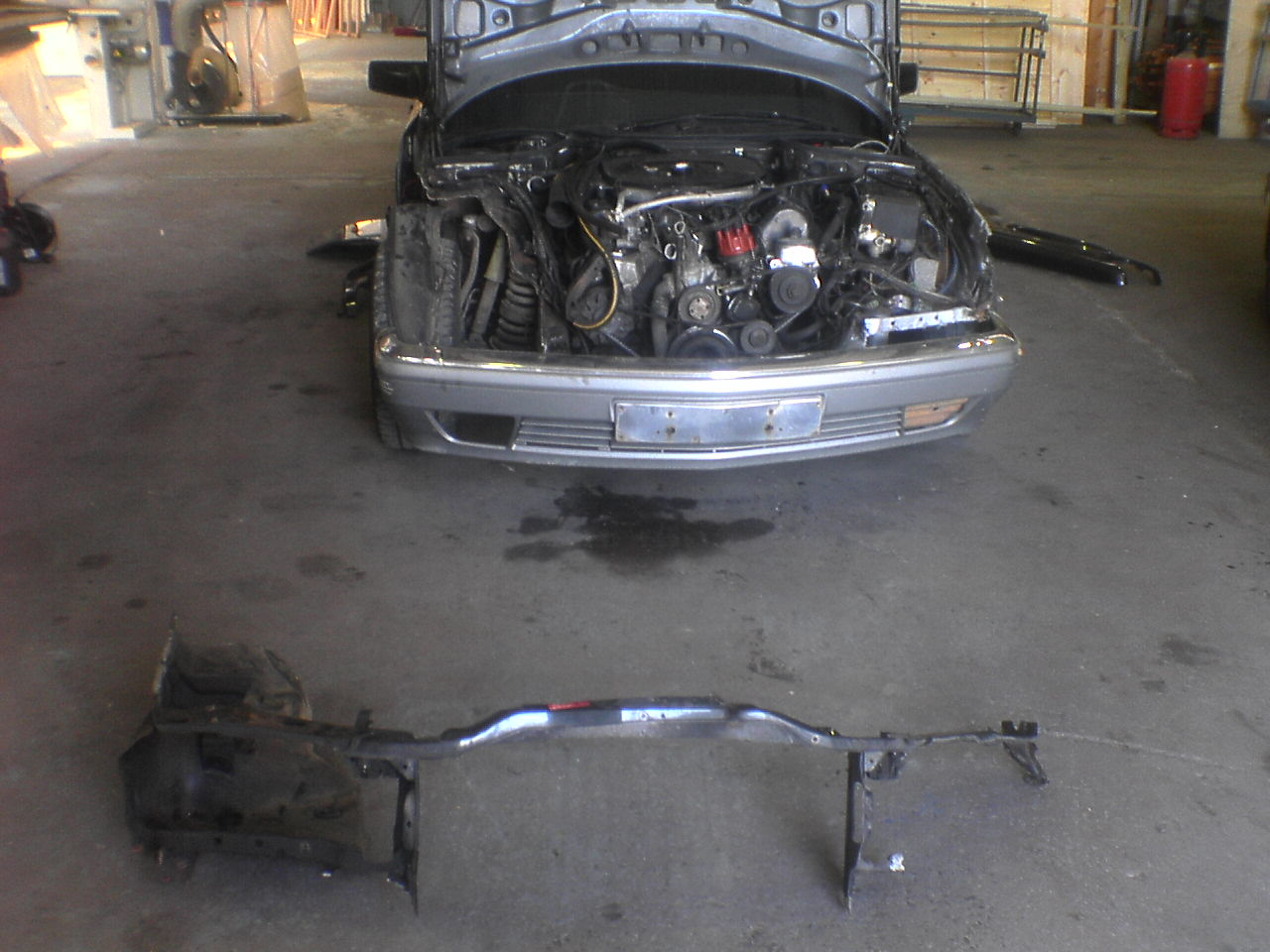 The W126 restoration thread