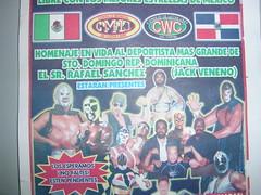 Afiche de lucha libre y homenaje a jack veneno