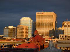 Richmond Skyline and Strange Sunrise