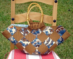 Japanese Patchwork Bag Front
