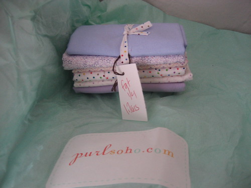 Purl fat quarters