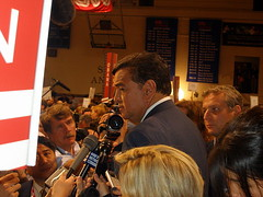 RICHARDSON AFTER A DEBATE IN NEW HAMPSHIRE, JUNE 2007