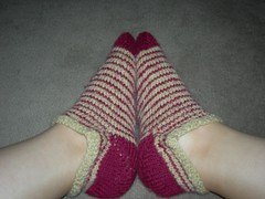 Sock side view