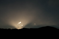 Hi! (Adr!Z) Tags: ecuador mountain sunrise cloud sunray awake rising sun shadow shades black profile landscape wonders nature abstract sky