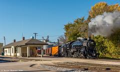 Horicon Depot (kdmadore) Tags: steamlocomotive steam soo1003 soo train railroad wisconsinsouthern wsor mikado sooline steamengine
