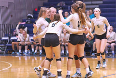 IMG_8303 (SJH Foto) Tags: girls volleyball high school york delone catholic team teen teenager huddle cheer