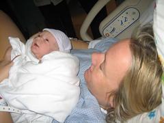 Makena, meet Mommy (Brookswilson) Tags: makena
