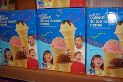 Packaging for You'll Love Coles 30 Ice Cream Cones