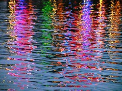 reflection  (ichie) Tags: light reflection water japan night searchthebest osaka 2007 blueribbonwinner thepainter abigfave impressedbeauty superbmasterpiece superhearts awesomepictures overtheexcellence