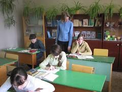 Дмитриева Светлана проводит открытый урок