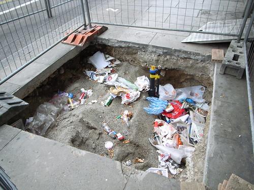 City sinkhole