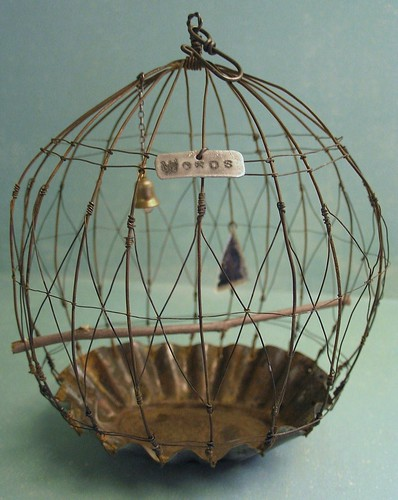 crafted vintage birdcage