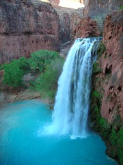 First view of Havasu Falls