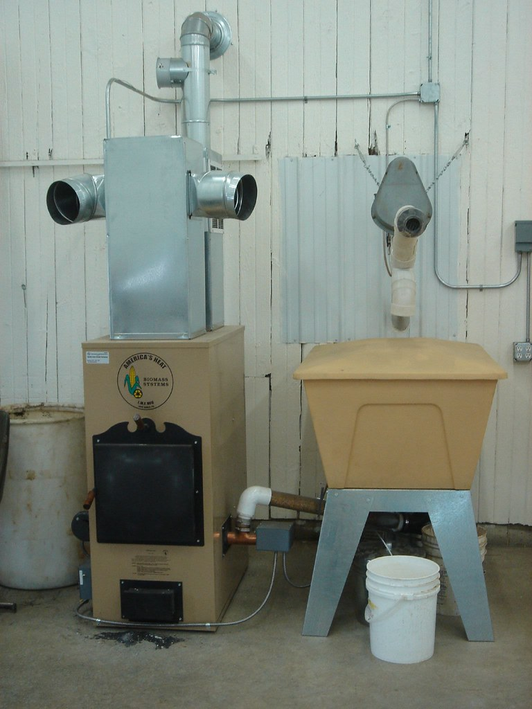 Clean Burning Corn Furnace
