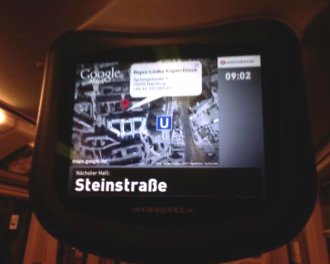 Google Maps in der U-Bahn