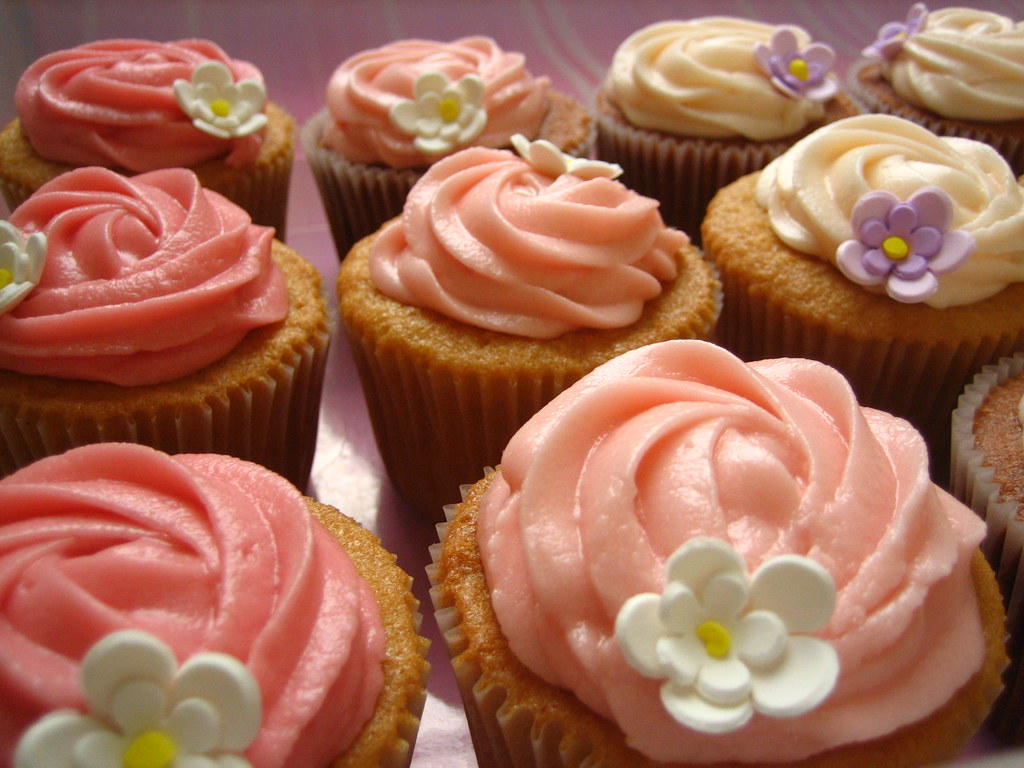 shades of pink cupcakes - dress up