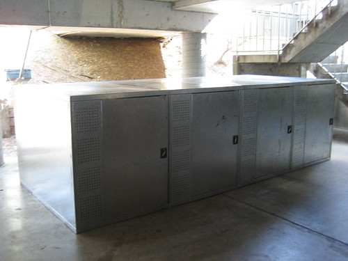 Bicycle storage in place