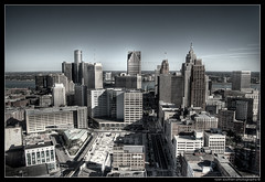 detroit skyline (s o u t h e n) Tags: city canada art skyline architecture photoshop buildings d50 river high nikon downtown skyscrapers dynamic ryan detroit cities center 2006 nikond50 windsor ren artdeco woodward compuware deco range renaissance hdr highdynamicrange detroitriver guardian comerica penobscot stott rencen renaissancecenter motown cen motorcity woodwardavenue capitolpark guardianbuilding penobscotbuilding comericatower photomatix merchantsrow southen ryansouthen