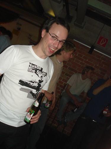 Henning auf ner K4-Party
