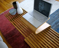 OFFI Mag Table as TV/Laptop Stand - by Stewf