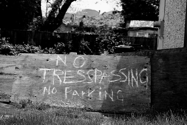 No Tresspassing One
