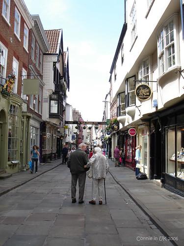 York 的大街小巷
