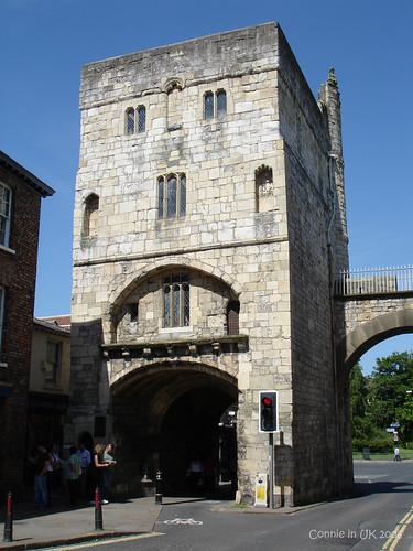 城牆上的 Richard III Museum