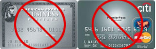 AMEX & Citi Card Travel Awards Stink