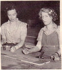 Corinne Mecklem & Mary Edith Paffenbarger Mecklem, 1944
