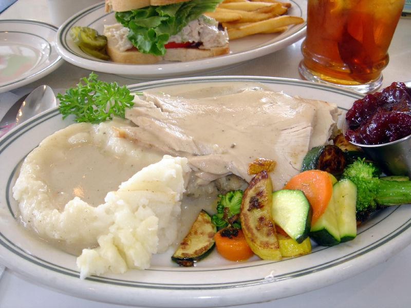 Old Fashioned Turkey Dinner