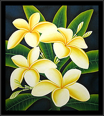 Beautiful Watercolor Painting-Hawaii Plumeria Tropical | eBay