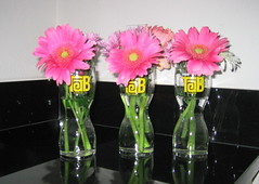 TaB flower arrangement