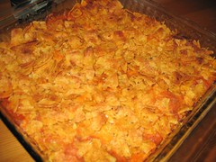 Yum Yum Chicken Enchilada Casserole