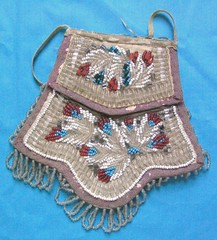 Iroquois beaded bag (Teyacapan) Tags: new york bag beads native antique indian purse american piknik beadwork iroquois