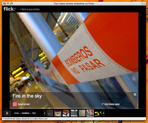 Nuevo Flickr Slideshow con una de mis pretenciosas fotos