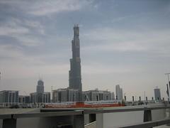 Burj Dubai, Tallest building in the world (hijack) Tags: building architecture skyscraper dubai burj