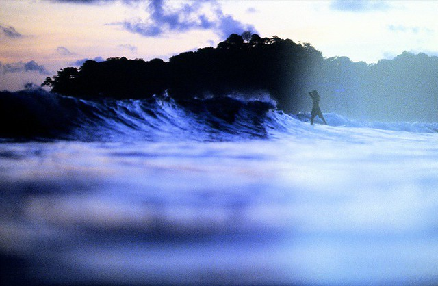 Last waves of the day, Costa Rica
