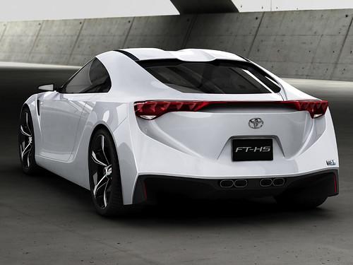 Toyota FT-HS 2009,car, sport car